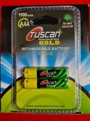 Tuscan AAA Rechargeable Battery