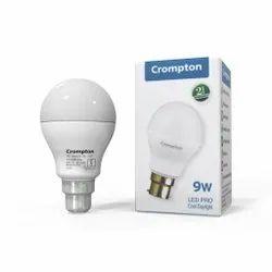 Polycarbonate white Crompton Led Bulb 9w