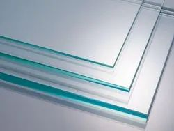Transparent Plain clear flat/float glass, Size: 4mm To 12mm