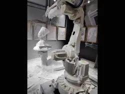Robotic Milling Commercial Art Work