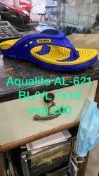 AL621BL/YL Mens Rubber Slipper