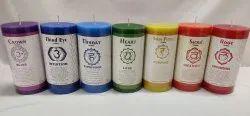 Chakra Pillar Candle 3x6