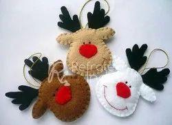 Traditional Christmas Felt Ornament