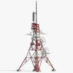 轻度钢铁MS电信通讯塔,电信
