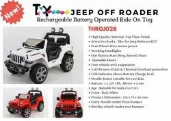 Kids Battery Operated Toy Jeep