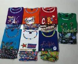 Cotton Night Suit For Kids Girls And Ladies