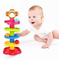 Plastic Huanger Roll Ball Kids Toy