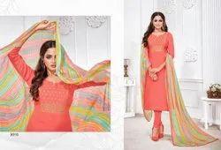 Cotton Printed Designer Dress