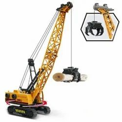 Unbreakable Friction Power Excavator Vehicle Push and Go Crawling Car Toys for Kids