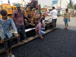 Modular Concrete Roadwork Construction Service, in Bengaluru