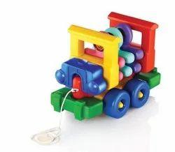 My School Bus Plastic Toys
