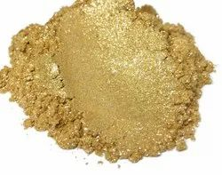 Bright Gold Pearlescent Pigment