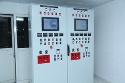 VARSHA 115KW Electrical Boiler Control Panel, For Industrial