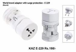 World Travel Adaptor With Surge Production