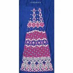 Blue Embroidered Lehenga Kali