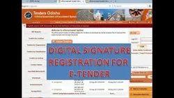Manual Online And Offline Digital Signature Certificate for Central procurement portal, Service Provider