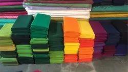 Plain Blouse Terry Rubia Fabric, Plain/Solids