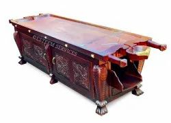 Dharapathy Wooden Decorative Cabinet Table