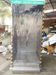 S-Safe Cabinet Safety Shower 304 Or 316 Cabinet Safety Shower With Eyewash