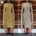 Ladies Designer Printed Palazzo Suit