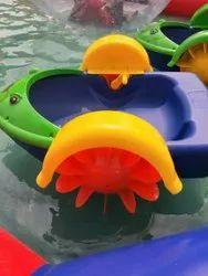 Plastic Paddle Boat