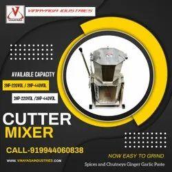Tilting 15 ltr Cutter Mixer, 751 W - 1000 W, Capacity(Litre): 7 Kgs