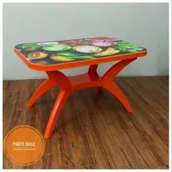 Mango Chairs Party Juice Plastic Table