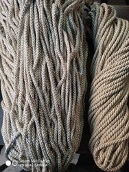 Off White and Brown Silk Cord, For Curtain Tie Back