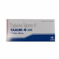 Taxim O Tablet (Cefixime)