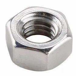 Hexagonal Mild Steel Hex Nuts, Size: Mm & Inch