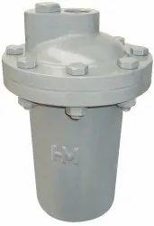 Medium Pressure HM-313 Cast Iron Inverted Bucket Vertical Steam Trap