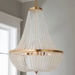 LED Brass Crystal hanging chandelier, Model Name/Number: AACRY02110201