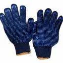 Blue On Blue Dotted Hand Gloves 50 Gram