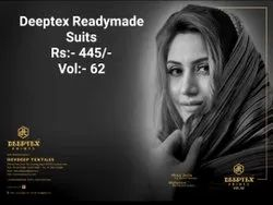 Deeptex Cotton Readymade Suits