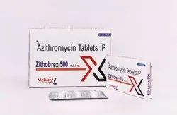 Zithobrex-500 Azithromycin 500mg Tablets