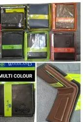 Male Brown Woodland Leather Wallet