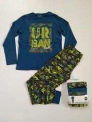 Kids Boys N Girls Pyjama Sets, kidswear Export Surplus Garment Stocklots