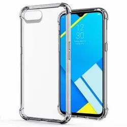 Transparent Silicon Mobile Back Cover, Size: Free