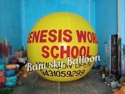 Advertising Balloon for School