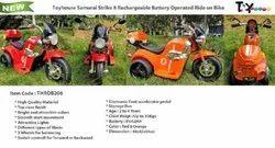 Kids 6V Battery Operated Toyhouse Samurai Bike