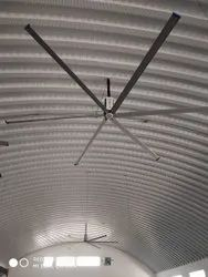 HVLS Fans For Trussless Roof