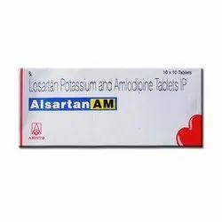 Alsartan AM Tablet (Losartan+Amlodipine)
