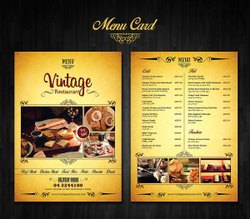 Restaurant Menu Card Printing Services, in Workshop