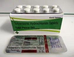 Tolperisone Hcl Tablet( TOLPI-PEACE 150 )
