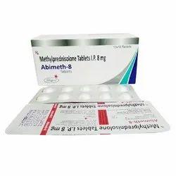 8 mg Methylprednisolone Tablet