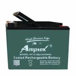 Amptek 12 Volt 45 Ah SMF E Bike Batteries