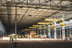 Concrete Frame Structures Industrial Project Construction Service