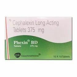 Phexin BD Tablet (Cephalexin)