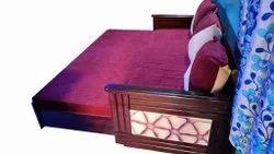 Purple Sofa Cum Bed