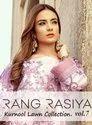 Rang Rasiya Kurnool Lawn Collection Vol-17 Pakistani Dress Material Catalog